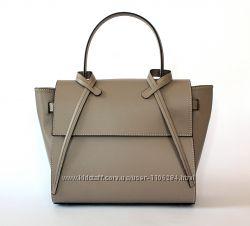 Итальянская кожаная сумка цвета тауп бежевая 39cd25b50459f