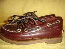 Туфли-топсайдеры кожаные Timberland 26 р, стелька 16, 5 см