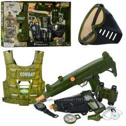 Игровой набор полицейского Limo Toy Спецоперация Миротворец 33480