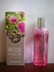 Туалетная вода Свежая Роза Ив Роше Rose Fraiche Yves Rocher для женщин