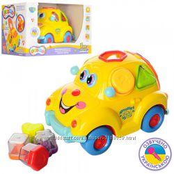 Моя почта Машинка-сортер Автошка с фруктами Joy Toy на УКР языке