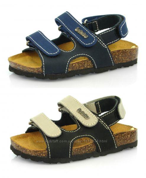 Кожаные ортопедические сандалии ТМ Inblu 31, 32, 33 размеры