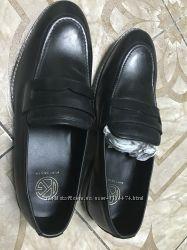 Мужские крутые лофферы loafers туфли бренд, фирма kurt geiger 42 размер