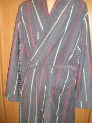 Халат мягусенький махровый размер М. Vroom&Dressmann. колір-синій