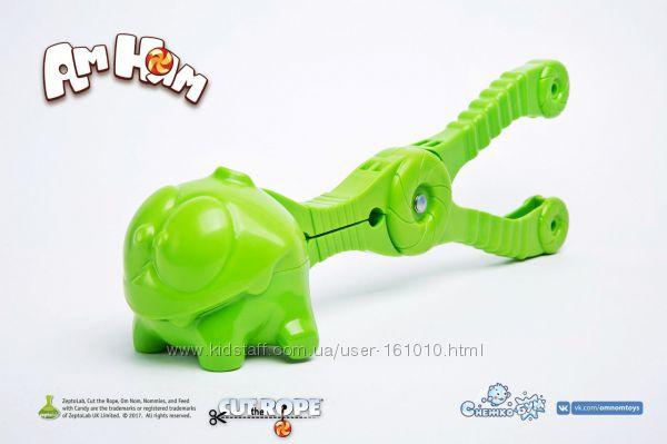 Снежколеп СнежкоБум - Ам Ням Cut the Rope - игрушка для лепки снежков