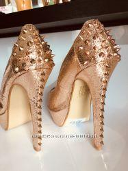 Золотые туфли оригинал belle woman