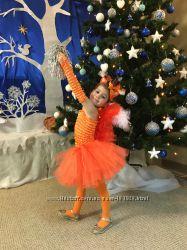 Костюм карнавальный белка клубничка уточка цыпленок нота снеговик девочка