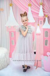 Легкое воздушное платье на рост 128 см