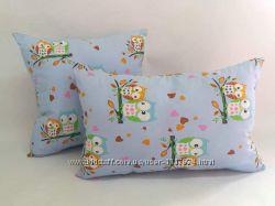 Детские подушки 40х60 см и 50х50 см холофайбер