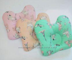 Детская подушка Бабочка, холлофайбер 32х24х8