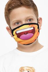 Детская маска двухслойная, многоразовая, Принт 106 Маска-Д 6-П