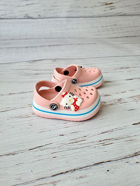 24-29р Детские кроксы сабо пляжная обувь для детей Luckline, 3002-246