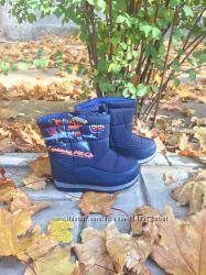 Зимние ботинки дутики для мальчика р24 в наличии
