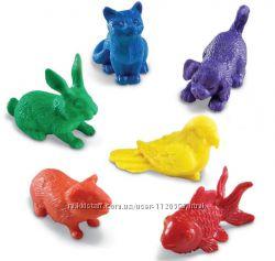 Набір для сортування домашні тварини learning resources 6 шт