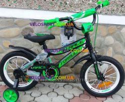 Детский двухколесный велосипед для мальчика Formula Race 14 дюймов