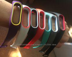 Ремешок фитнес браслет Xiaomi Mi Band 2 разные цвета ми2 ми бенд2