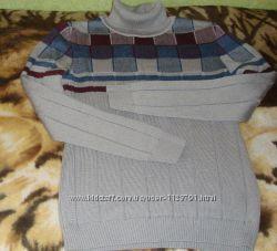 Роскошный свитер с высокой горловиной