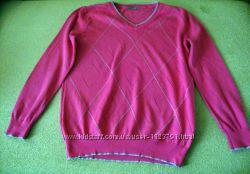 Красивый тонкий свитер 100 cotton