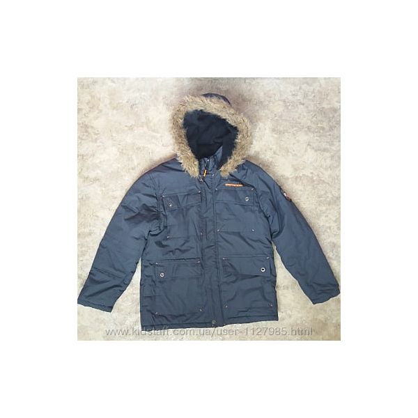 Куртка пуховик зимняя Big chill на мальчика парня 16-18-20лет 48 размер