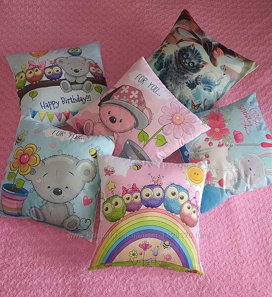 Подушка декоративная детская