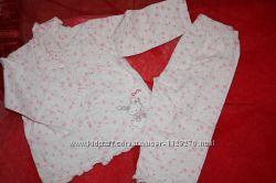 Байковая пижама ф. George для девочки 1824мес. в отличном состоянии