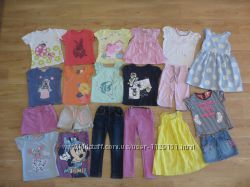 Футболки, платья, юбки, джинсы от 2-5 лет OLD NAVY. GAP. H&M. Next, Disney