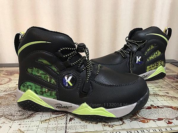 Демисезонные ботинки Башили на мальчика 31-36 размеры