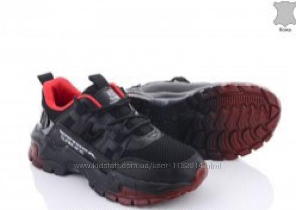 Легкие кожаные мужские кроссовки Bayota с сеткой 36-41 размеры в наличии
