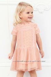 Нарядное платье на девочку 3-4 года Next