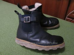 фирменные детские ботинки кожа