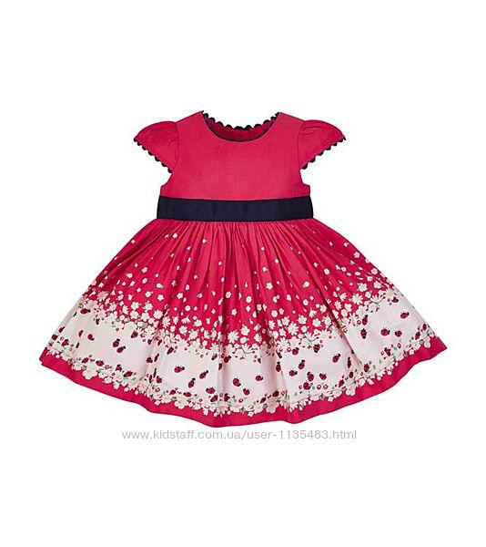 Очень красивое платье mothercare 6-9 меc