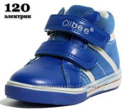 Ботинки, полусапожки, кроссовки Clibee, кожаная стелька, супинатор, 21-26