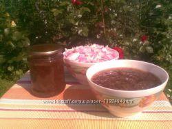 Домашнее варенье из чайной розы