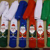 В наличии новогодние махровые колготы Pier Lone, размер 3-4 5-6