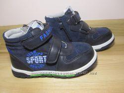 Черевики демісезонні на хлопчика Ввт арт. 2326 р. 28-31 якісні хайтопы ботинк
