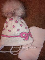Зимние шапки манюням
