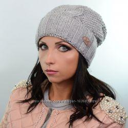 Зимняя женская шапка с флисом, цвета разные