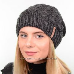 Зимняя шапка с защипом и флисом, цвета разные