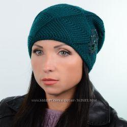 Зимняя женская шапка, цвета разные
