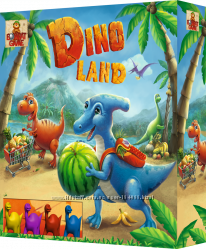 DINO LAND - настольный квест о динозаврах.
