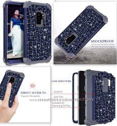 Samsung Galaxy S9 Plus ударопрочный чехол с противоударным бампером
