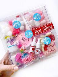 Слайм набор Red slime box