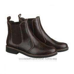 Ботинки кожаные Челси, vm-1018-03kor