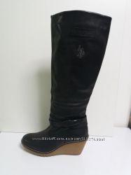 U. S POLO ASSN кожаные сапоги р. 37
