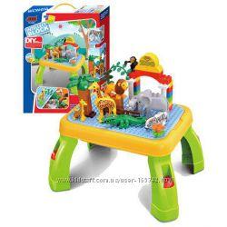 Конструктор JIXIN 3288A, 3688A. 3688B, 6588B зоопарк, замок принцессы. каре