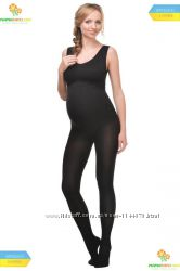 Теплі колготки вагітним з бавовною 250 ден