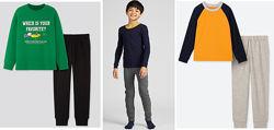 Утепленный домашний костюм пижама для мальчика