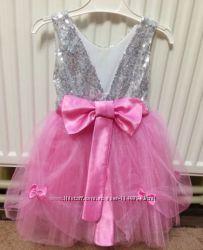 Нежное платье для маленькой принцессы, на годик