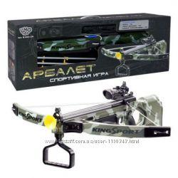 Арбалет детский спортивный с лазерным прицелом Limo Toy M 0004