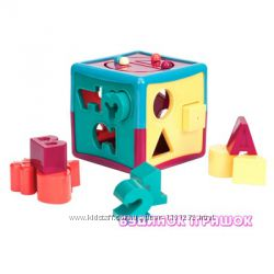 Развивающая игрушка-сортер Battat Lite Умный Куб